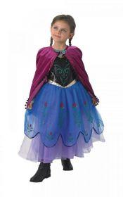 Dětský kostým Anna   Pro věk (roků) 5-6, Pro věk (roků) 7-8