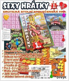 Hra Sexy hrátky kreslené