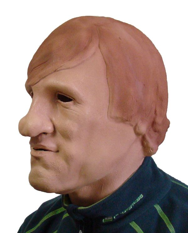 Maska Gerard Depardieu