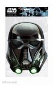 Papírová maska Death Trooper