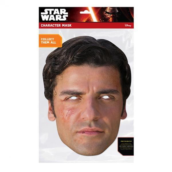 Papírová maska Poe