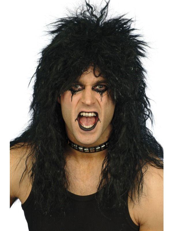 Paruka Hard Rocker černá