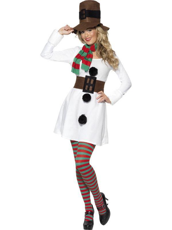Kostým Sněhulačka