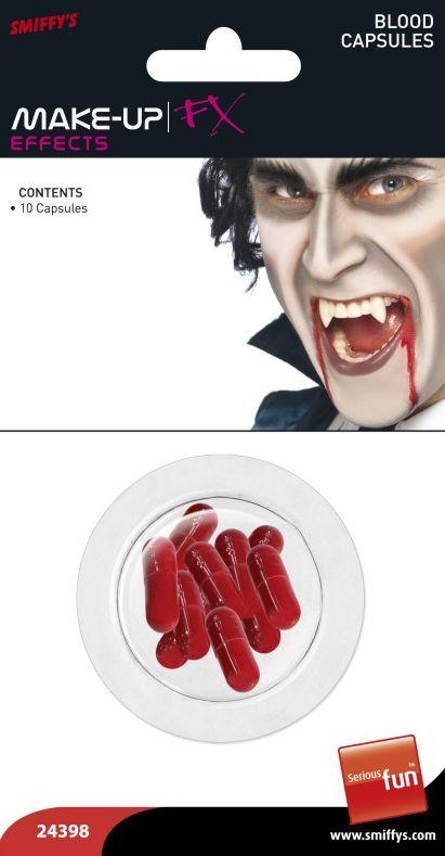 Krvavé kapsle 10 ks