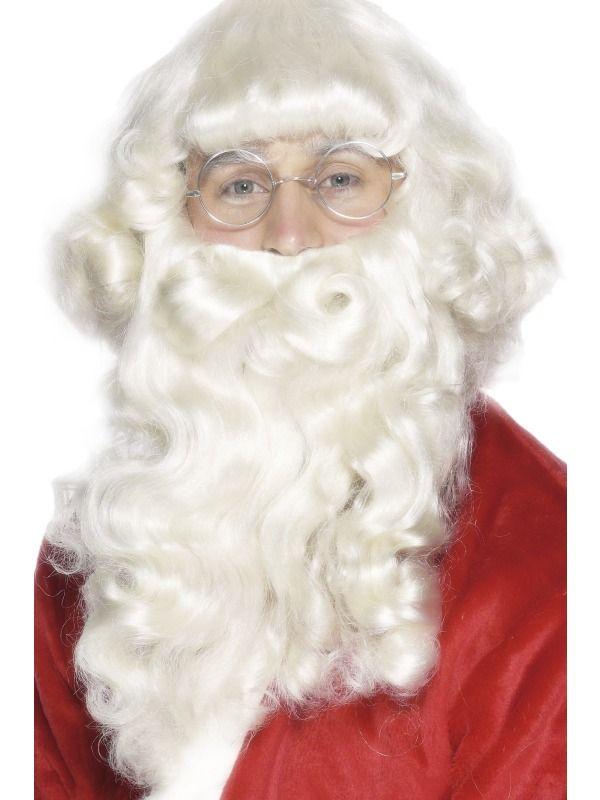 Paruka a vousy Santa deluxe 38 cm