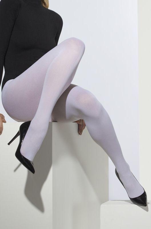 Punčocháče bílé