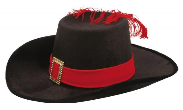 Dětský klobouk Mušketýr
