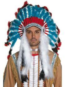 Indiánská čelenka Náčelník
