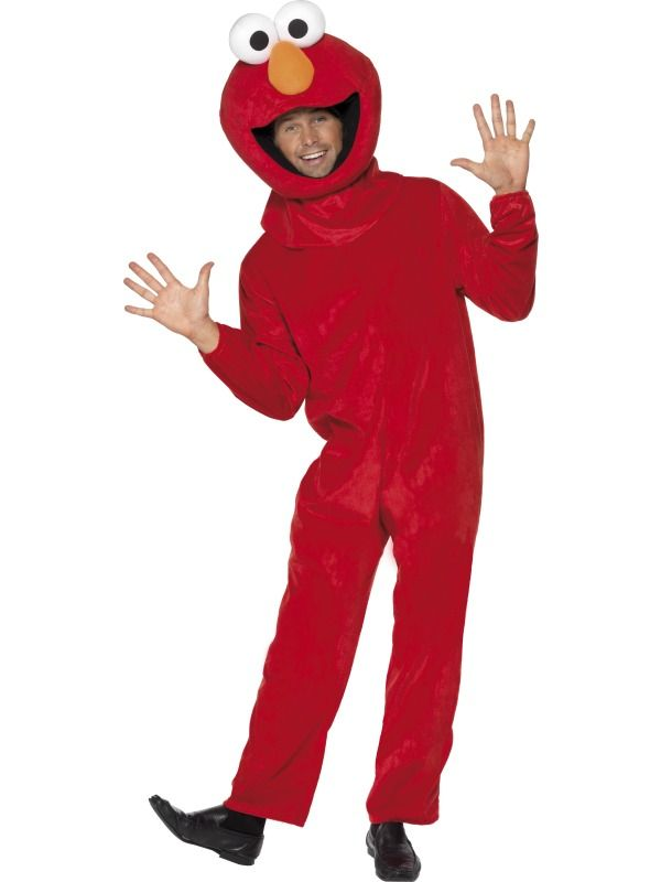 Kostým Sesame street Elmo