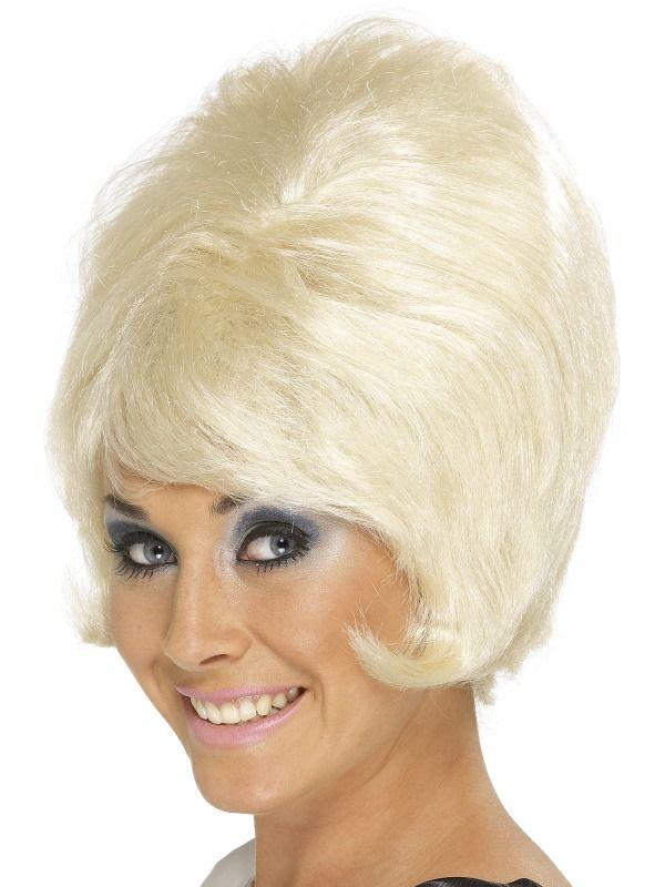 Paruka 60s Beehive blond