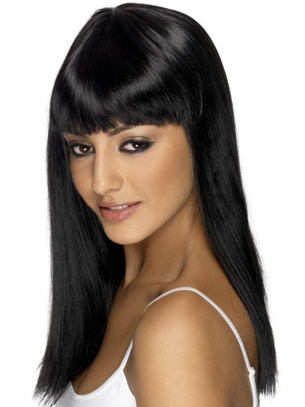 Paruka Glamourama černá