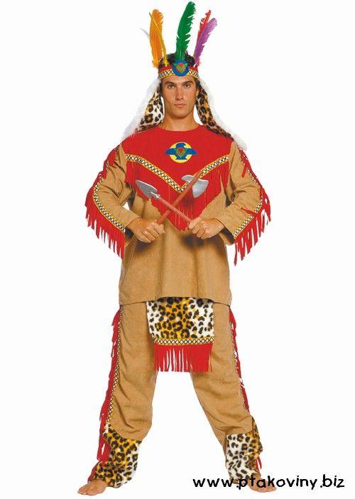 Kostým Apačský náčelník