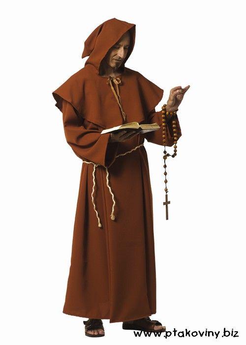 Kostým Mnich