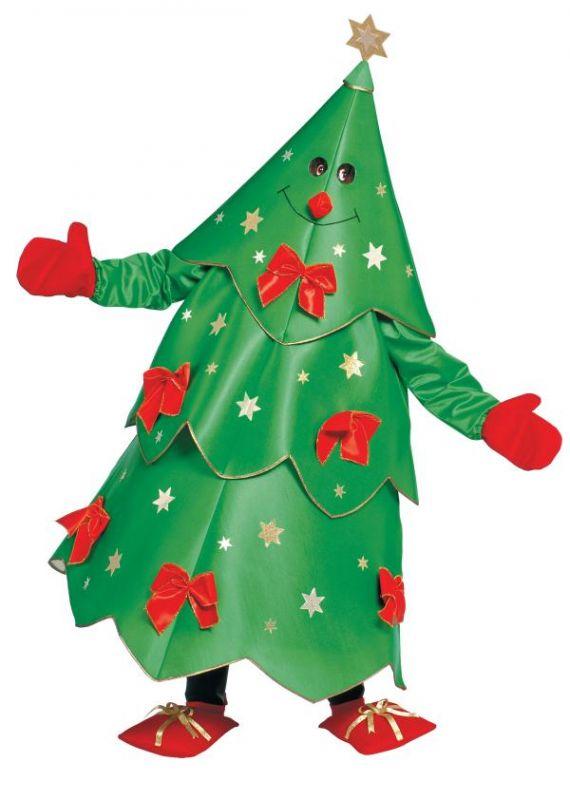 Maskot Vánoční stromeček