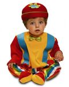 Dětský kostým Klaun | Pro věk (měsíců) 12-24, Pro věk (měsíců) 7-12