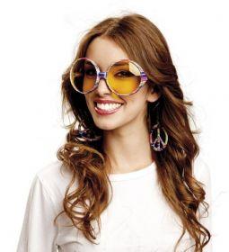 Brýle Hippie velké barevné