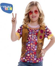 Dětské tričko 3D Hippie | Pro věk (roků) 2-4, Pro věk (roků) 4-6, Pro věk (roků) 6-8, Pro věk (roků) 8-10