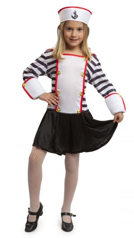 Dětský kostým Námořnice