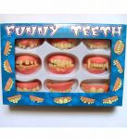 Sada 9 druhů zubů
