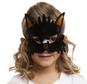 Škraboška dětská kočka