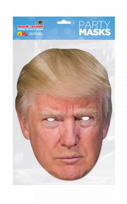 Papírová maska Donald Trump