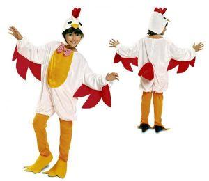 Dětský kostým Slepice | Pro věk (roků) 3-4, Pro věk (roků) 7-9