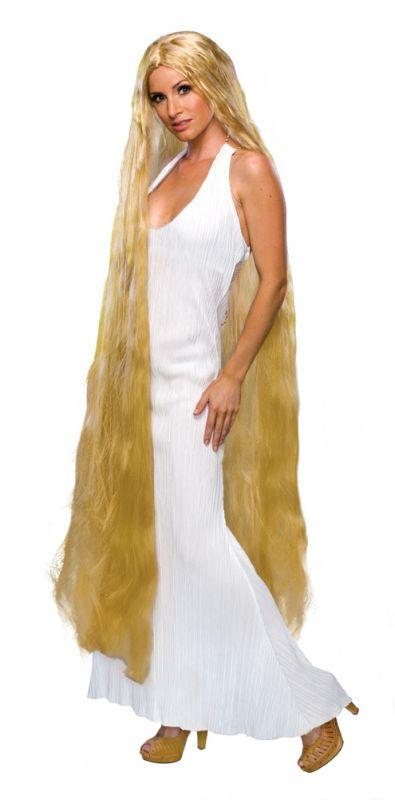 Paruka Lady Godiva blond 150 cm